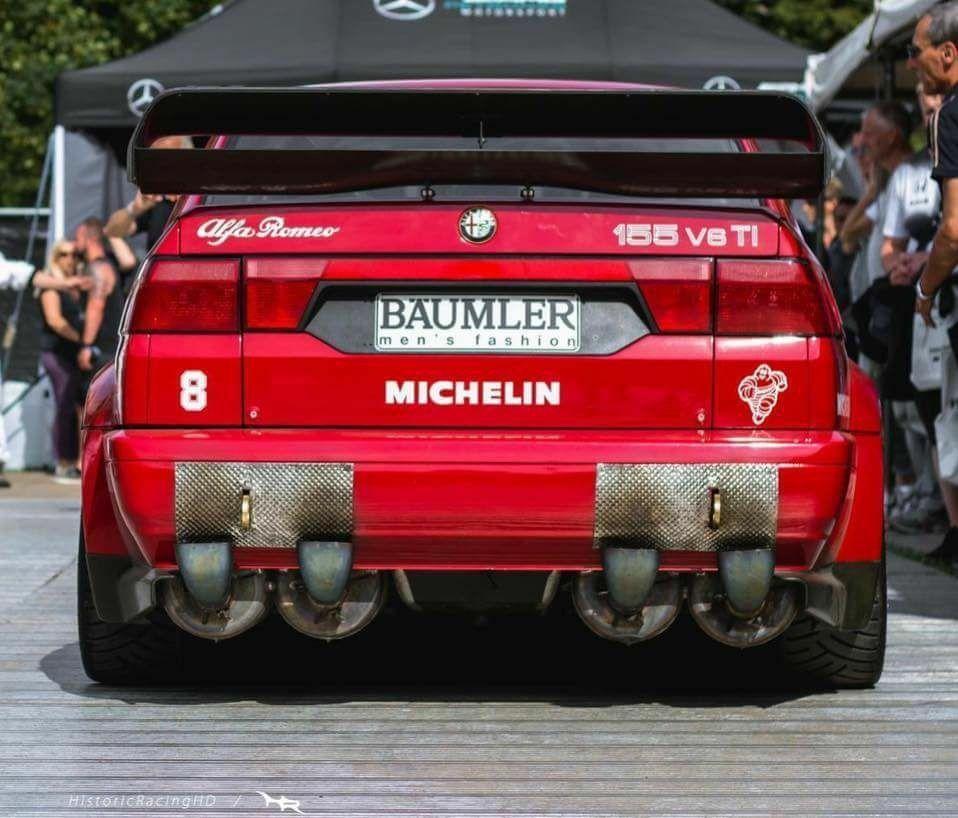 Alfa Romeo 155 #maserativintagecars #AlfaRomeoclassiccars