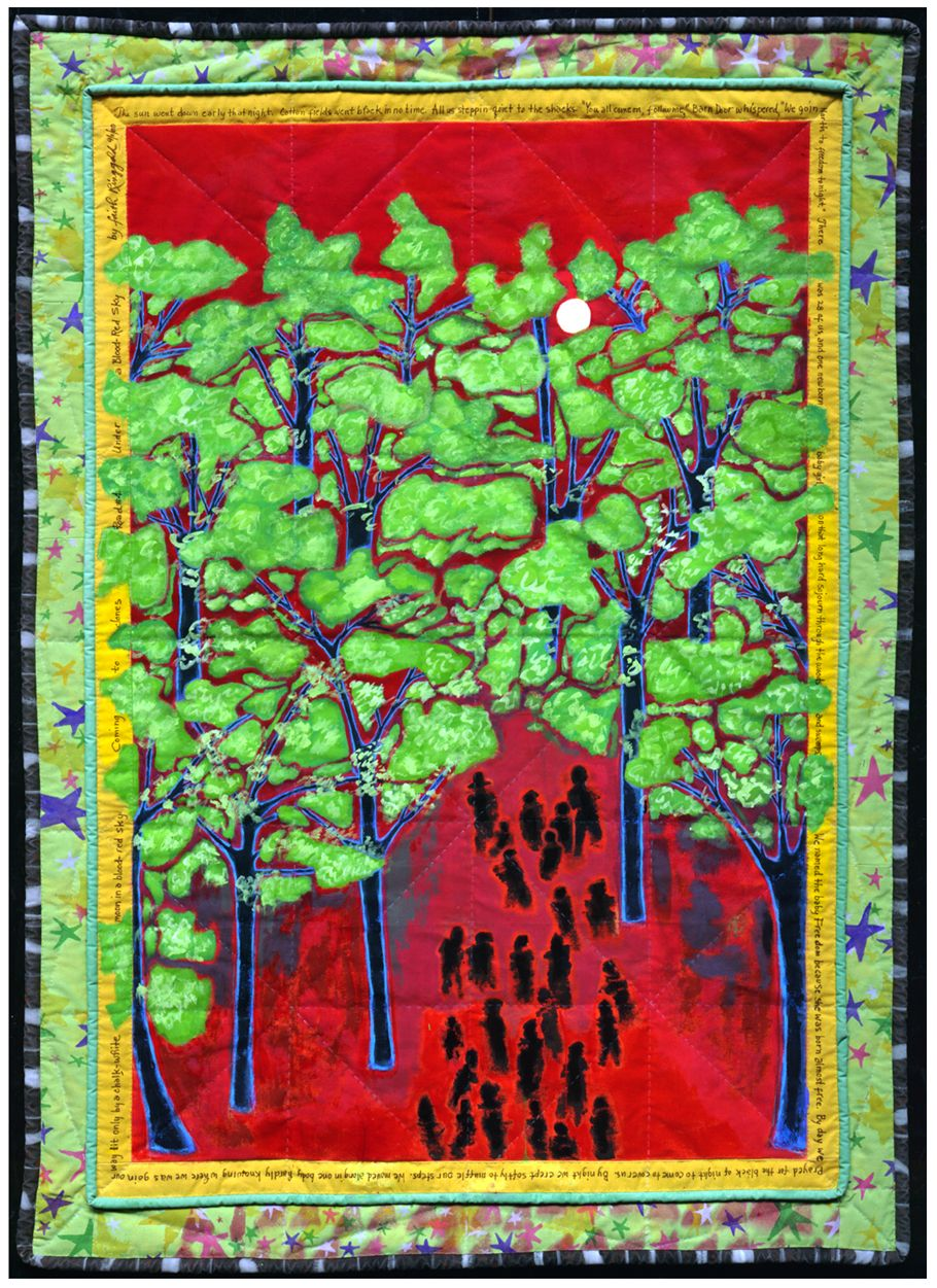 a biography of faith ringgold born in new york Biography: ms ringgold is represented by aca gallery in new york city  an  original african american fairy tale based on the quilt born in a cotton field.