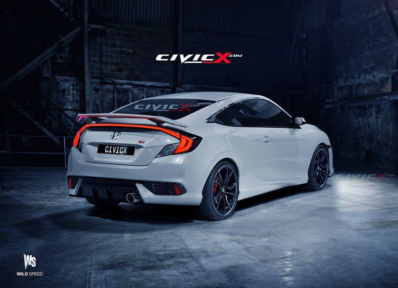 2016 Honda Civic Si Coupe honda civic si