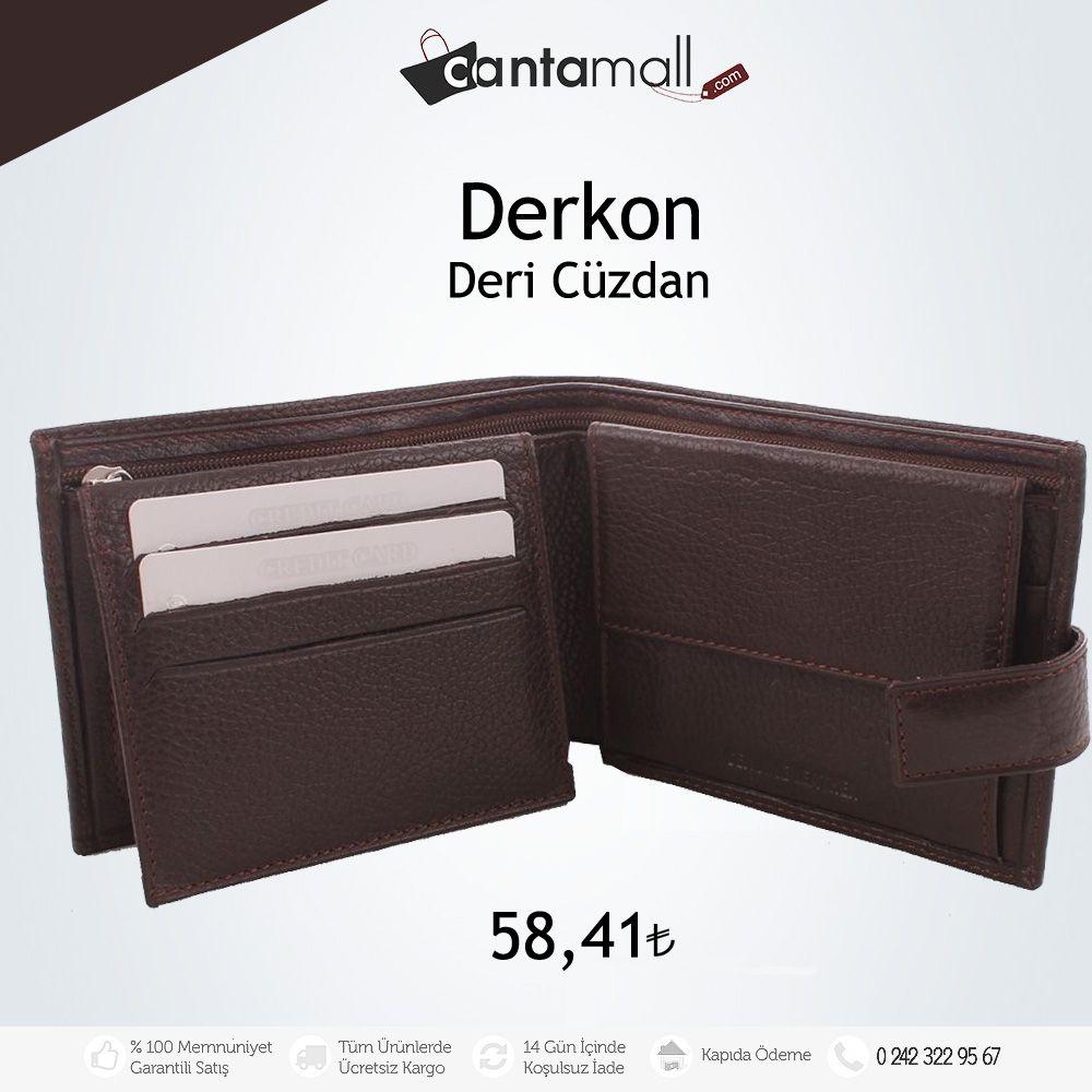 Deri cüzdanlarda yüzlerce çeşit ve indirimli fiyatlar sizleri bekliyor.