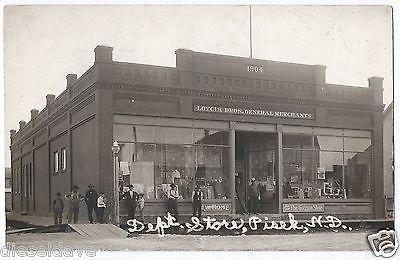 Pisek, North-Dakota 1909