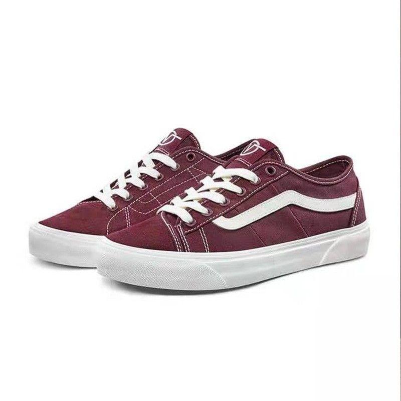 Vans Old Skool Bess Ni Shoes Red in
