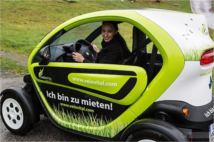 Cabriofahren in Österreich - mit dem Renault Twizy Elektroauto