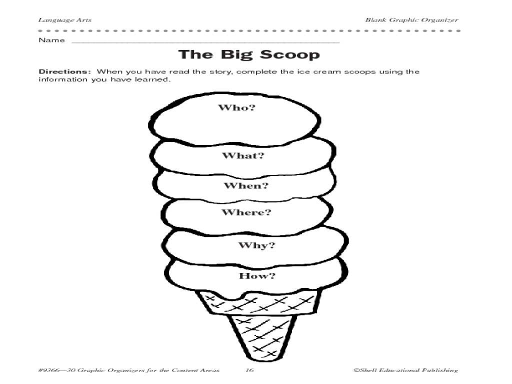 30 Graphic Organizers Graphic Organizer For 1st