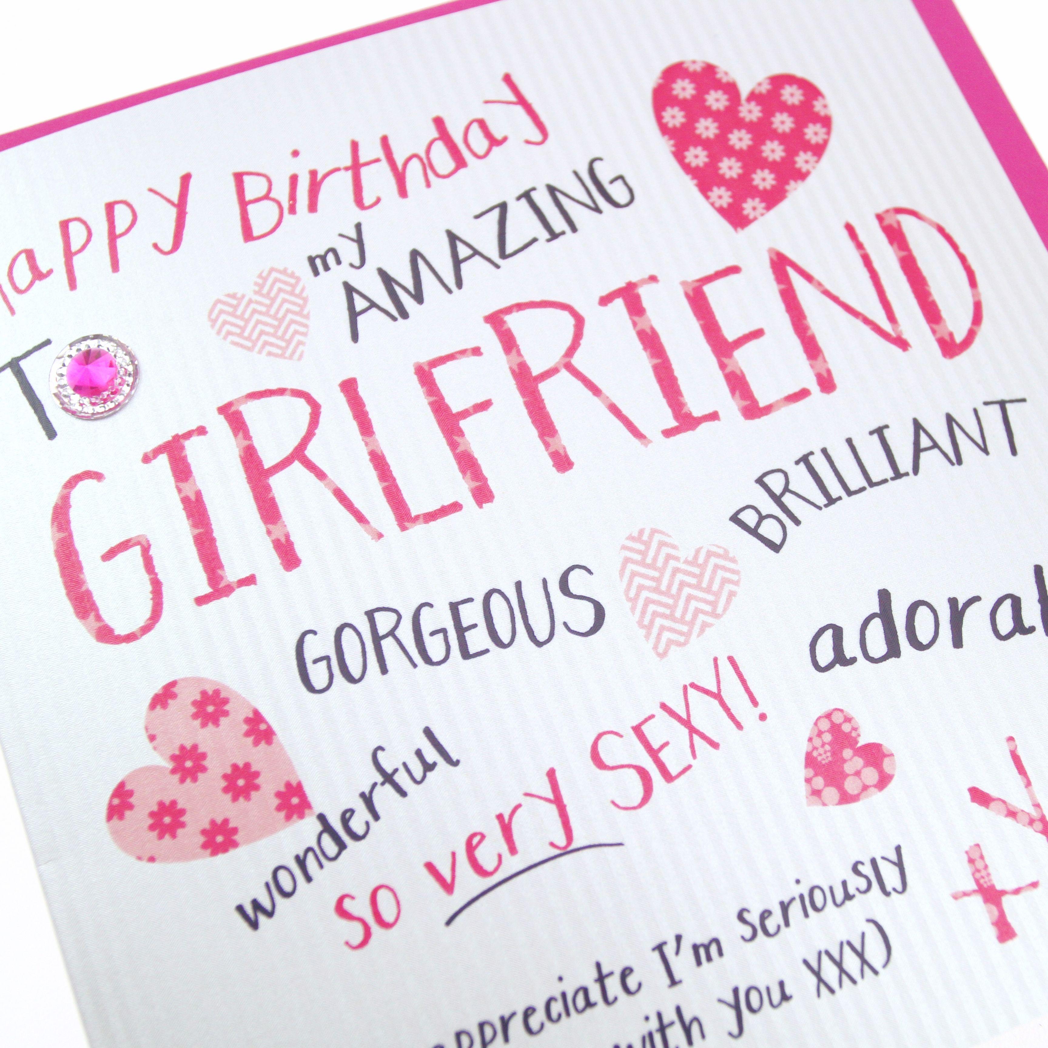 Handmade Hot Pink Womens Birthday Card Hearts Kisses Gorgeous Brilliant Wonderful
