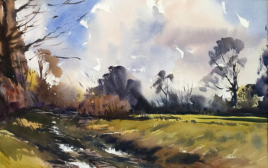 Steve Hall Artist Artists In Wiltshire Watercolour Courses In