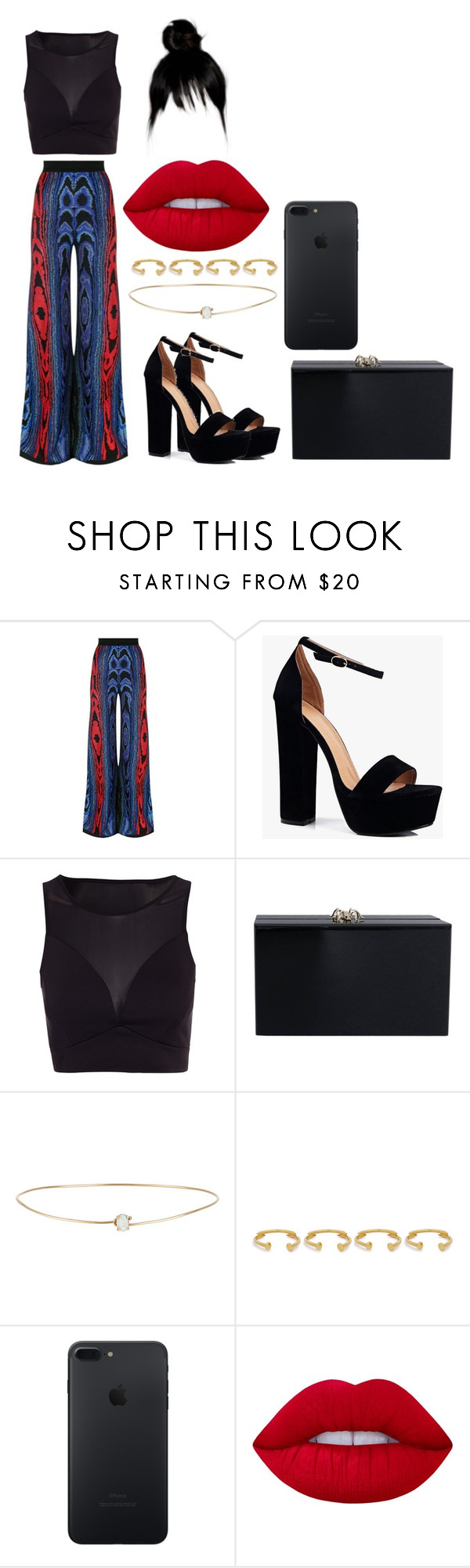 """""""Sin título #4797"""" by pauladtello ❤ liked on Polyvore featuring Balmain, Boohoo, Charlotte Olympia, Loren Stewart, Joanna Laura Constantine and Lime Crime"""