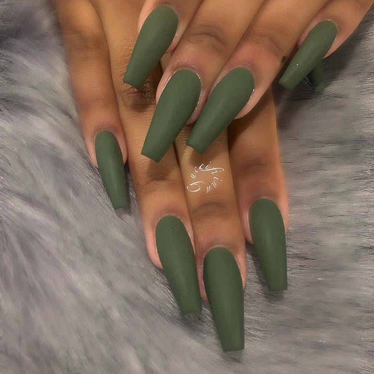 Wakeupandmakeup Hudabeauty Luxeladyofficial Melformakeup Make Up Vines Makeuptutorialsx0x Diyfurious Ama Green Nails Cute Acrylic Nails Ballerina Nails