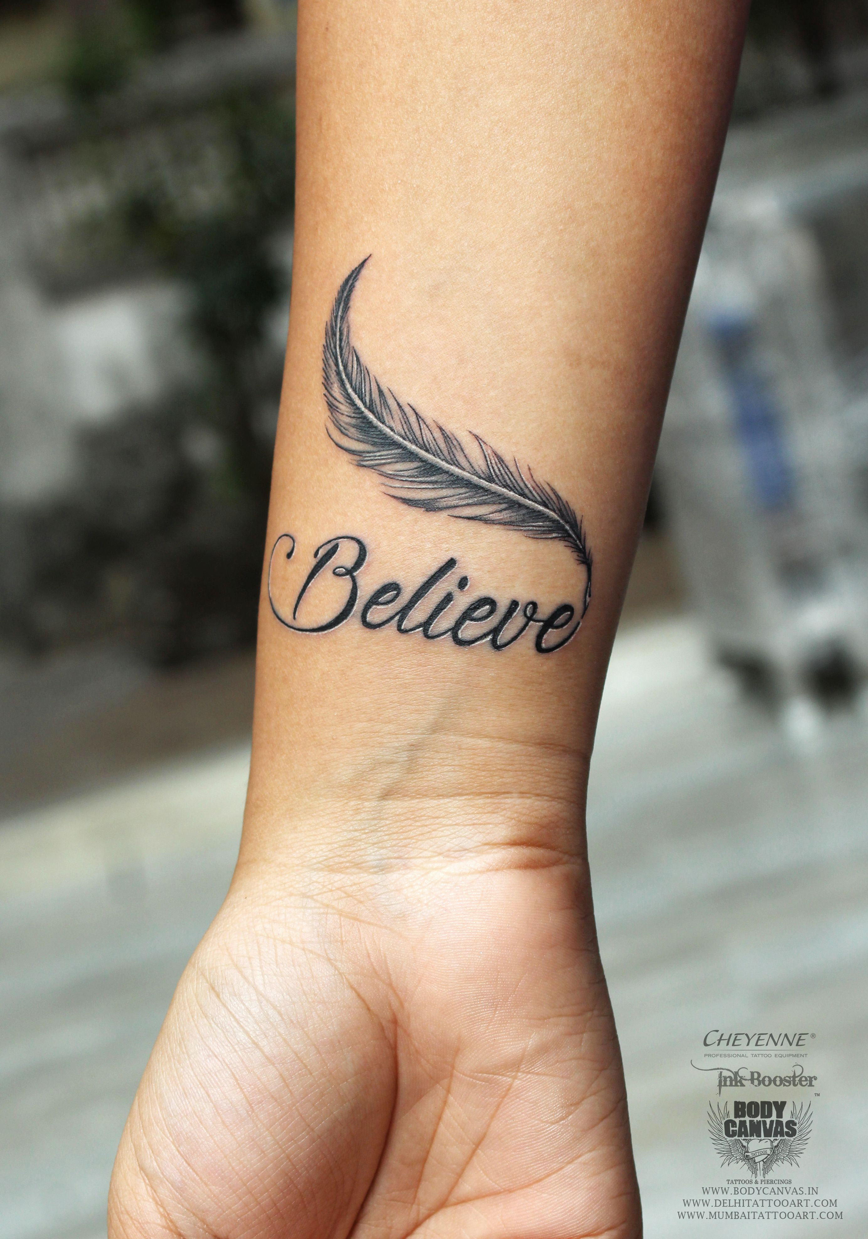 Believe Tattoo Meaning A Short Word Holds A Strong And Powerful