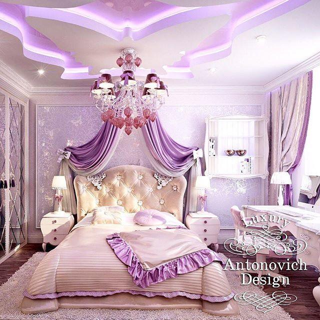 Luxury Antonovich Design On Instagram Sladkih Vam Snov Girl Bedroom Designs Ceiling Design Bedroom Luxurious Bedrooms