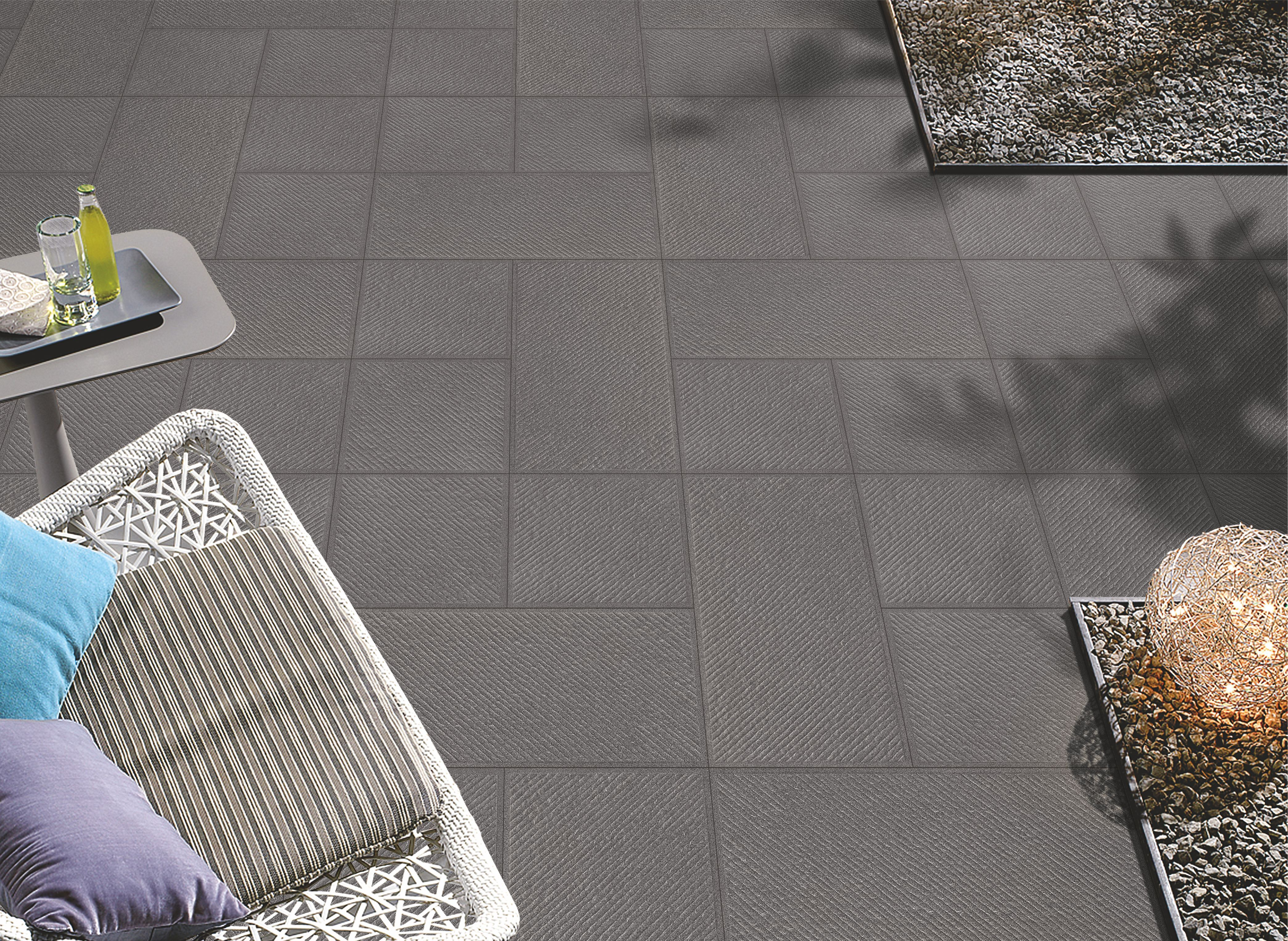 Product :Barberino Negro Size: 398x398mm & 398x800mm Outdoor tiles ...