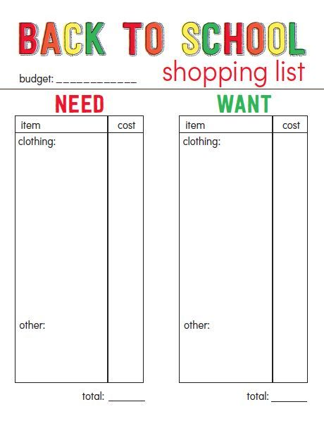 Back to School Free Printable | Free printables, School and Free