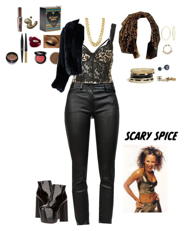Mel B/' Scary Spice Fancy Dress Accessorie