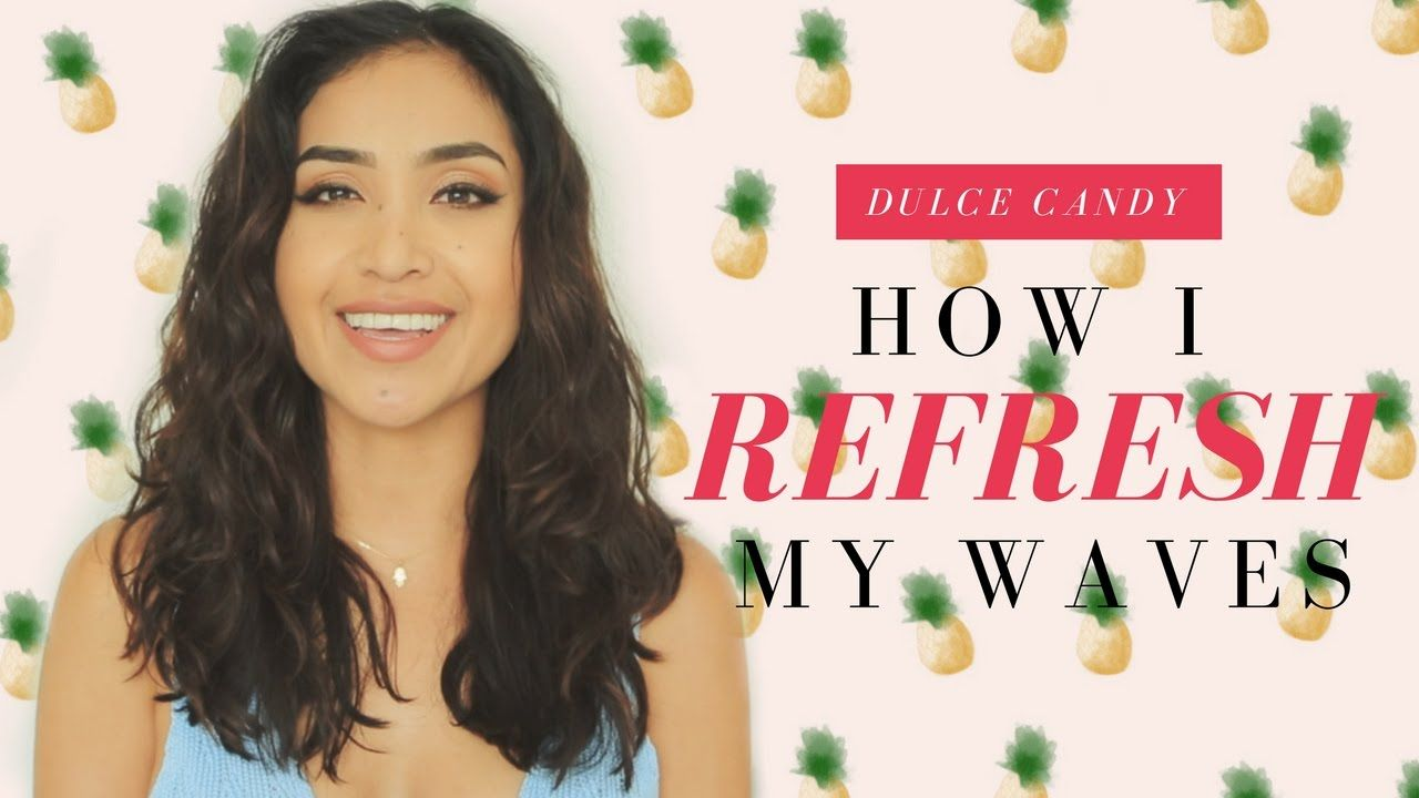 How I REFRESH My Wavy Hair + Hairdryer w/ Diffuser