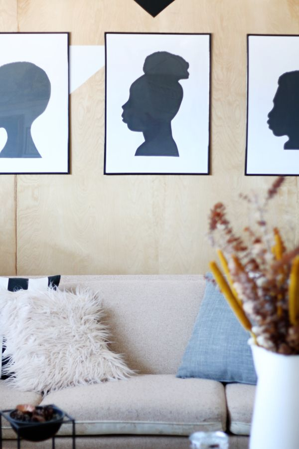 Photo of How to: DIY Family Silhouette Art in Under an Hour