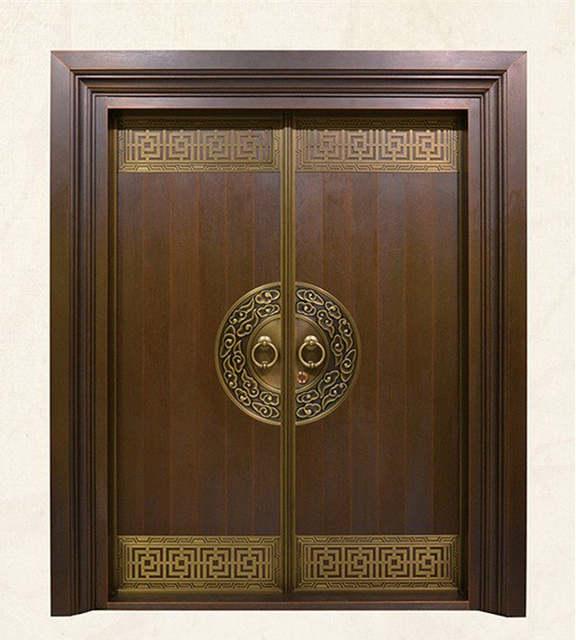 Online Shop Bronze Door Security Copper Entry Doors Antique Copper Retro Door Double Gate Ent Main Entrance Door Design Door Glass Design Doors Interior Modern