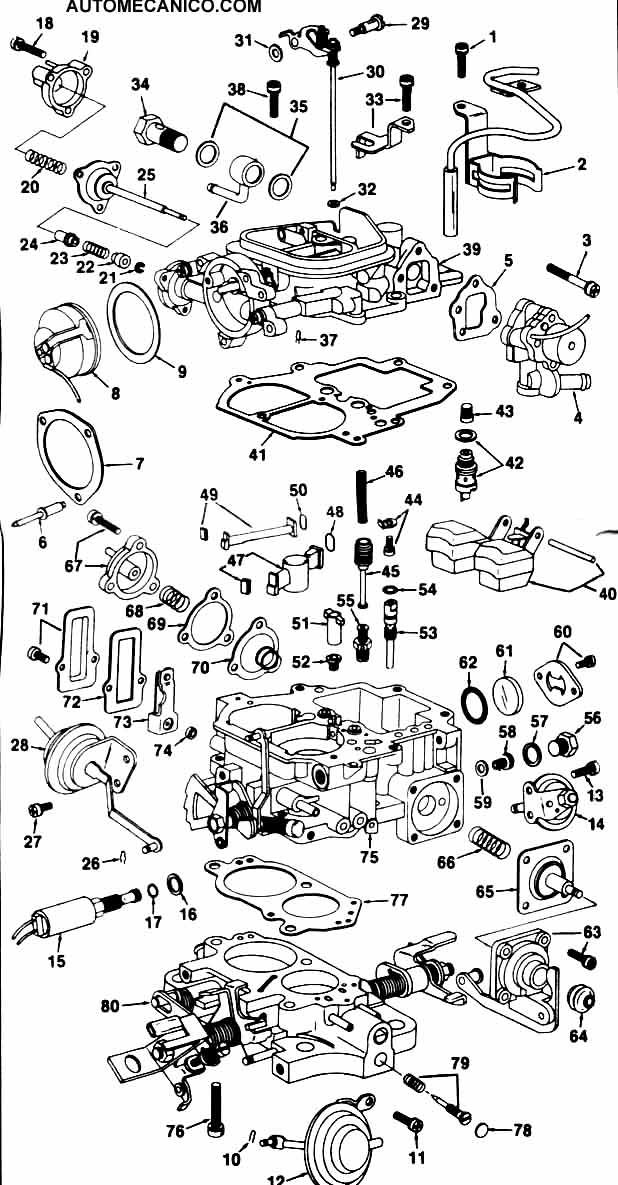 2E engine toyota AISAN Carburetor … 12.10.2010 Встроенное