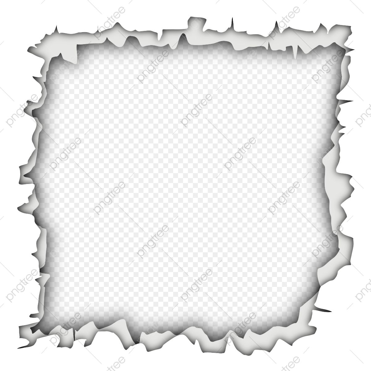 Moldura Vazia Com Papel Rasgado Papel Rasgado Elemento Imagem Png E Psd Para Download Gratuito Torn Paper Empty Frames Flower Frame