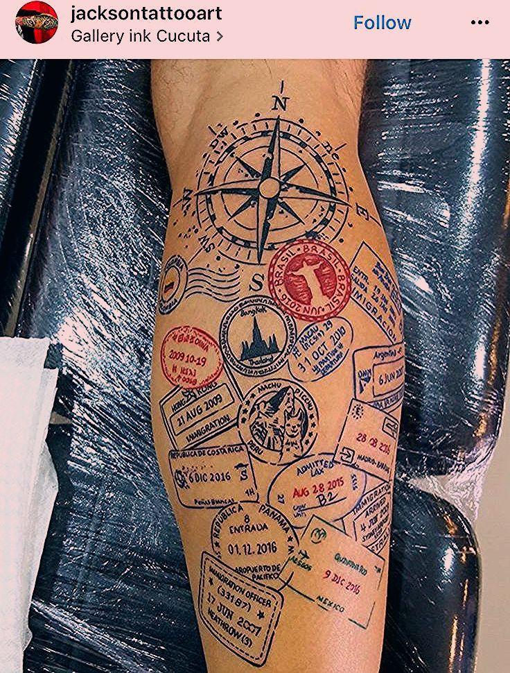 Photo of Souvenirs auf der Haut – 19 coole Tattoos erzählen vom Reisen – PaulCamper Magazin DE