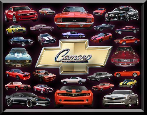 Chevy Camaro Over The Years Camaros Photo 22493603 Fanpop