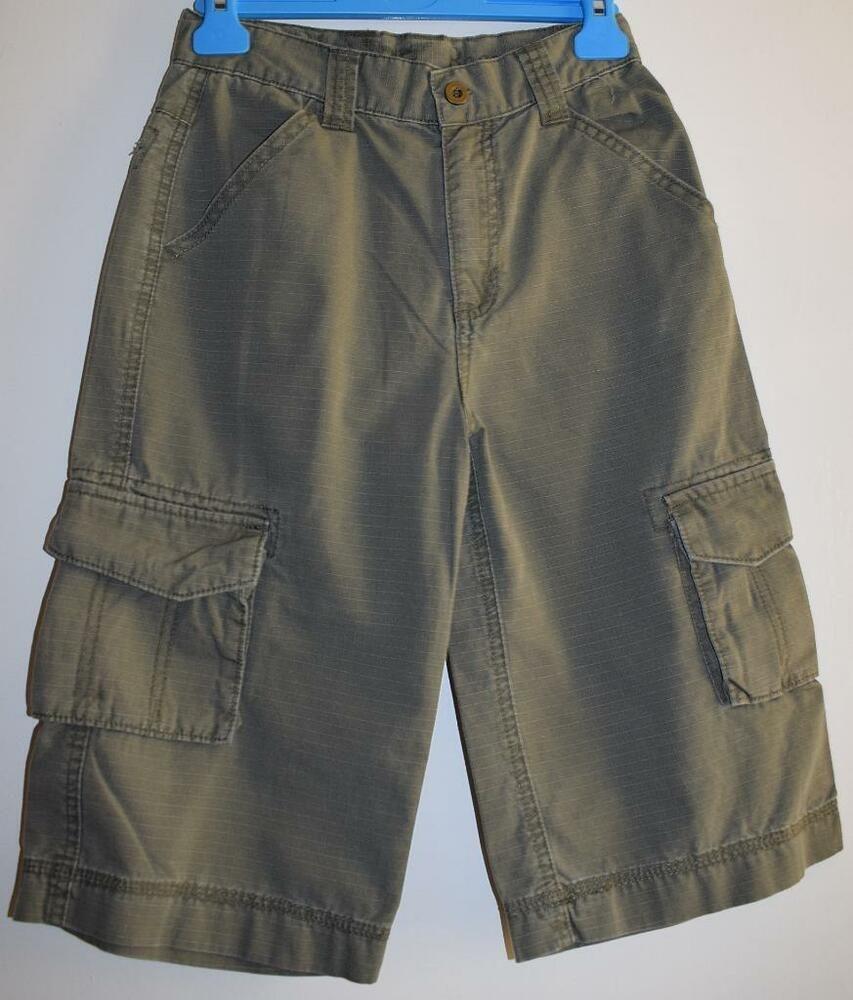 b05bf3bbaf BLUE BASE at MATALAN Boys Khaki Three Quarter Length Cargo Shorts Age 9  Years