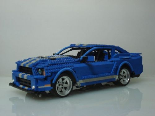 ford mustang 2010 shelby gt500 a lego creation by henry. Black Bedroom Furniture Sets. Home Design Ideas