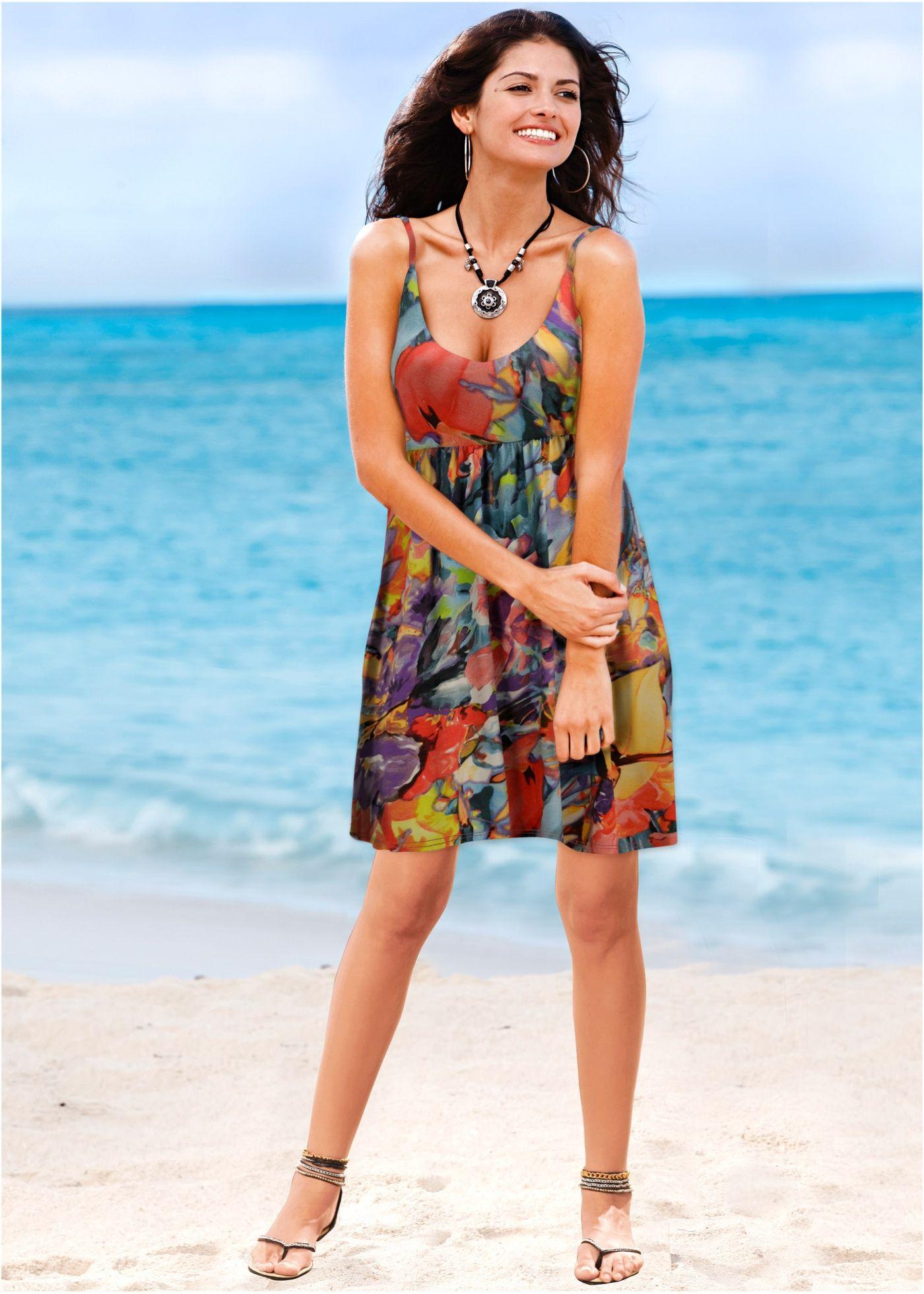 Vestido de alcinhas roxo claro floral encomendar agora na loja on-line bonprix.de  R$ 69,90 a partir de Vestido soltinho com decote V profundo,l corte ...