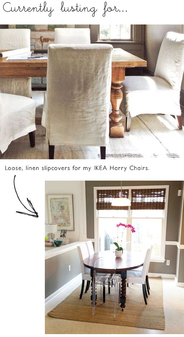 Admirable Slipcover For Ikea Harry Chair Via Brynalexandra Blogspot Gmtry Best Dining Table And Chair Ideas Images Gmtryco