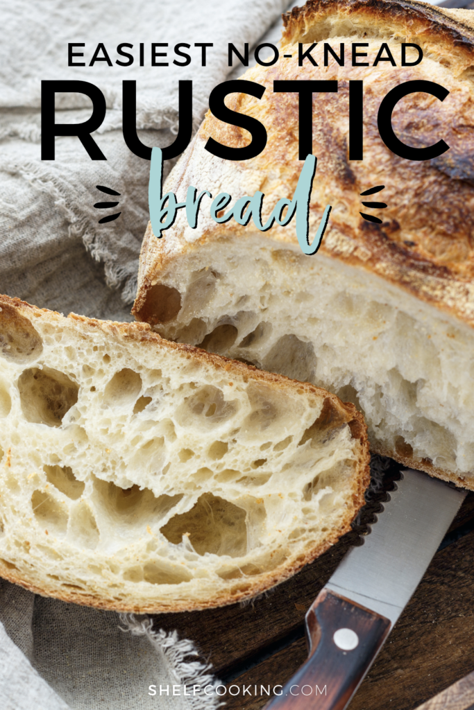 Easiest Rustic Bread Recipe Ever Simple Delicious Shelf Cooking Recipe Rustic Bread Bread Recipes Homemade Delicious Bread