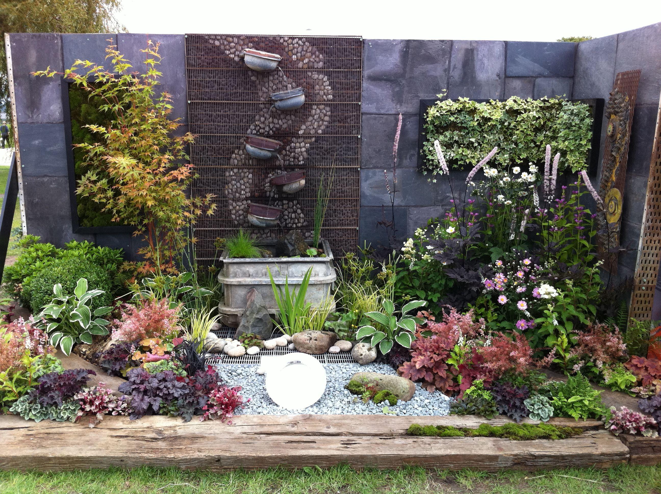 The Contemplation corner by garden designer Jeni Cairns Juniper