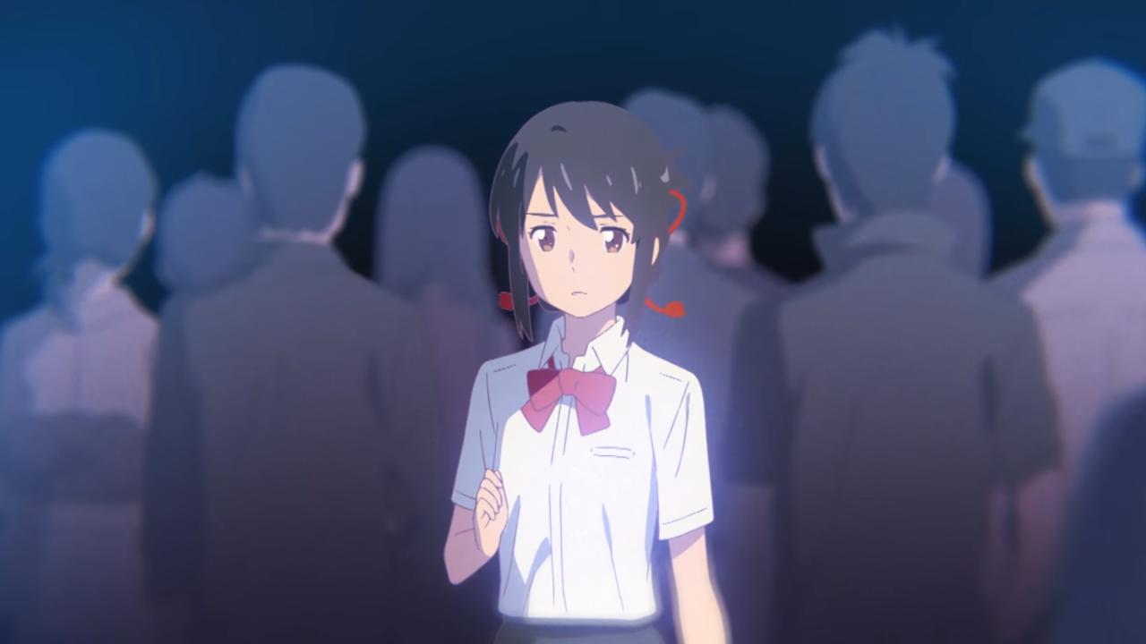 Vídeo musical de la película Kimi no Na wa. para el tema