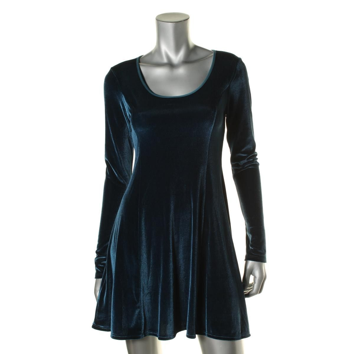 Bcbgeneration womens velvet long sleeves mini dress products
