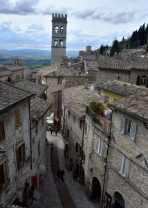view from our apartment in Assisi , Italy follow our blog and see our gap year of adventure. #seniorgapyear.wordpress.com