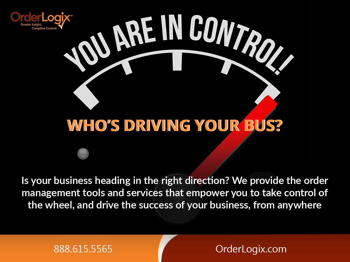 Is your #business heading in the right direction? We provide the #order management tools and #services that empower you to take control of the wheel, and drive the #success of your #business, from anywhere. Visit Us - orderlogix.com - 888.280.3303