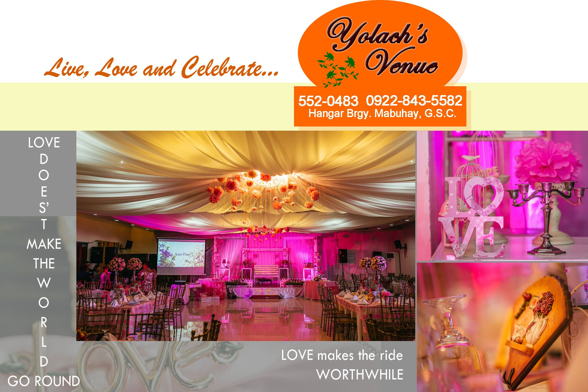 Wedding Venue In General Santos City That Offers Basic Food And Package Complete