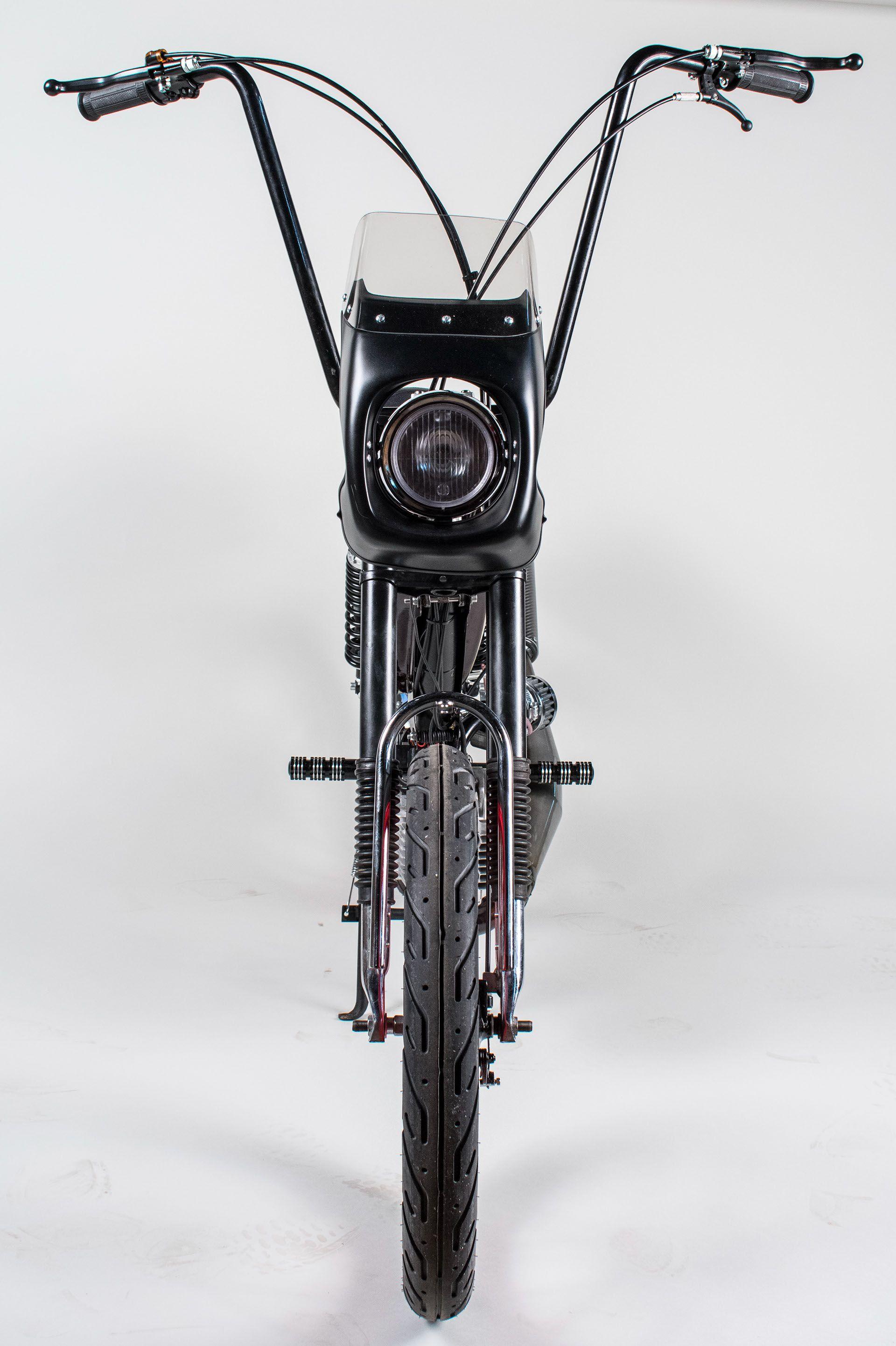 Pin On Custom Mopeds [ 2881 x 1920 Pixel ]