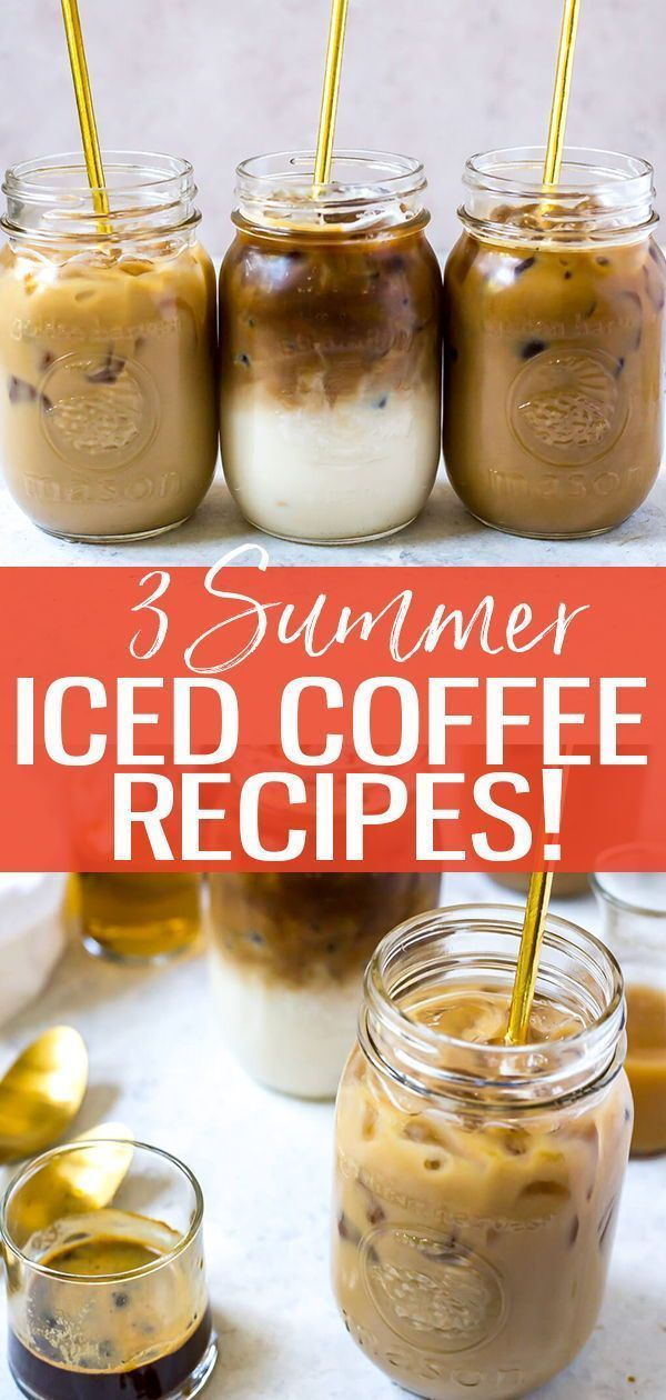 Photo of 3 Iced Coffee Recipes: Caramel, Vanilla and Mocha – The Girl on Bloor