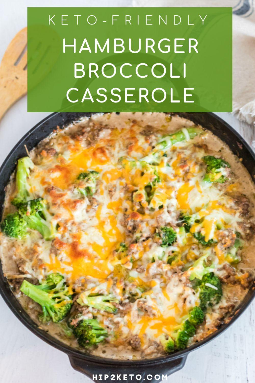 Easy Keto Hamburger Broccoli Casserole (One-Skillet Recipe)