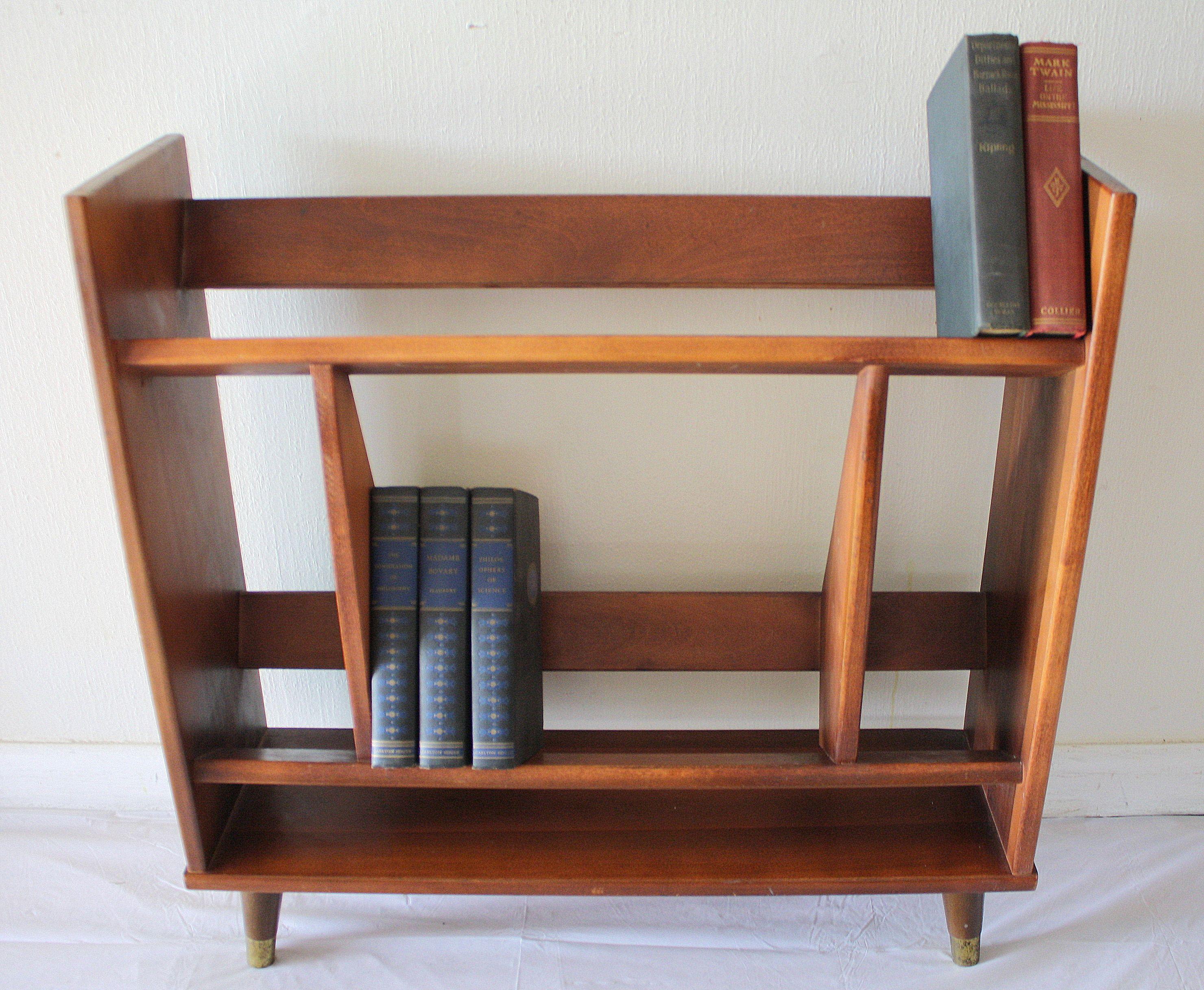 Mcm Mini Danish Bookcase 1 In 2020 Vintage Bookcase Mid Century Modern Shelves Bookshelves Diy