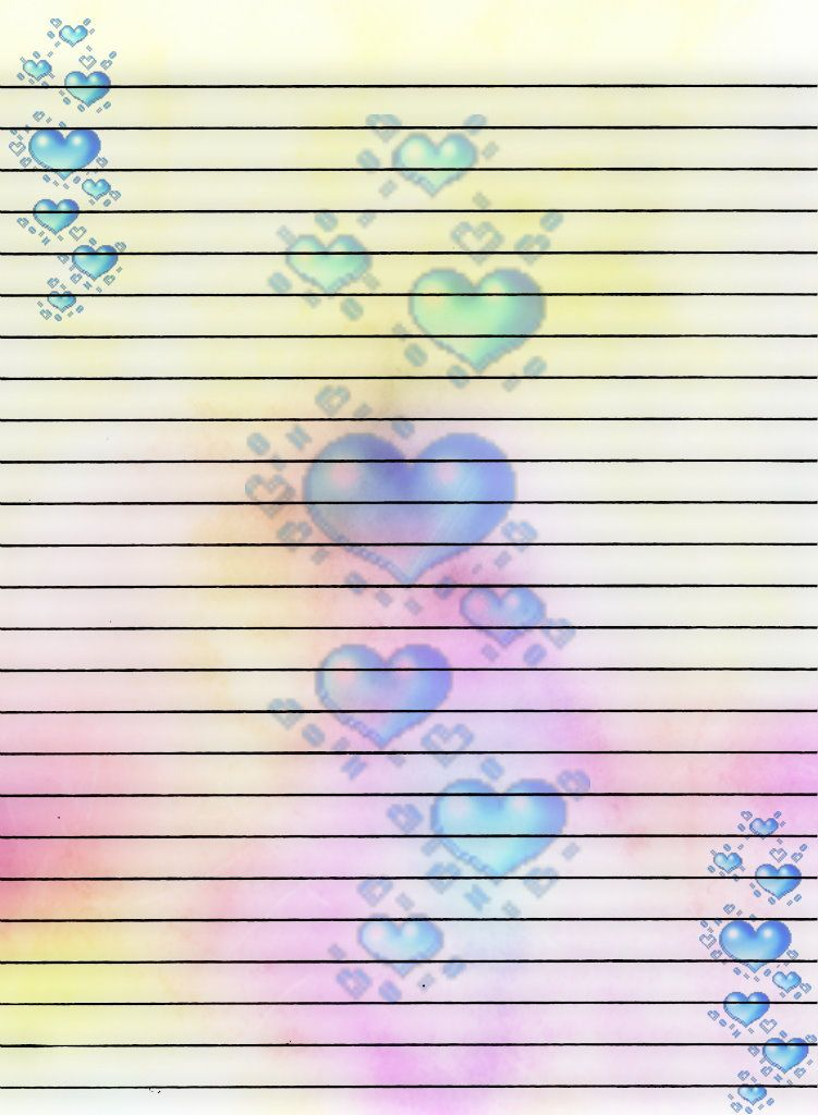 Printable Writing Paper by Aimee-Valentine-Art on DeviantArt - printable writing paper template