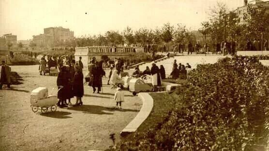 Gezi Park, Istanbul, end of 30s