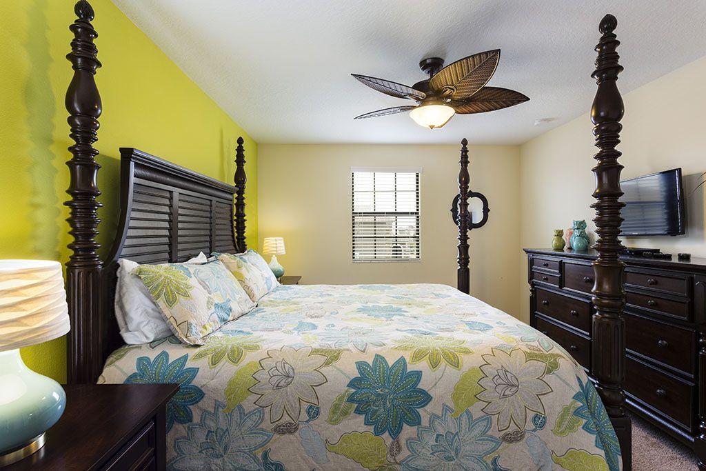 Master Bedroom - 8 Bedroom 5 ½ Bath Champions Gate Villa ID 1269. 7 ...
