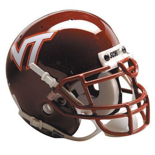Virginia Tech Hokies NCAA Authentic Full Size Helmet ...