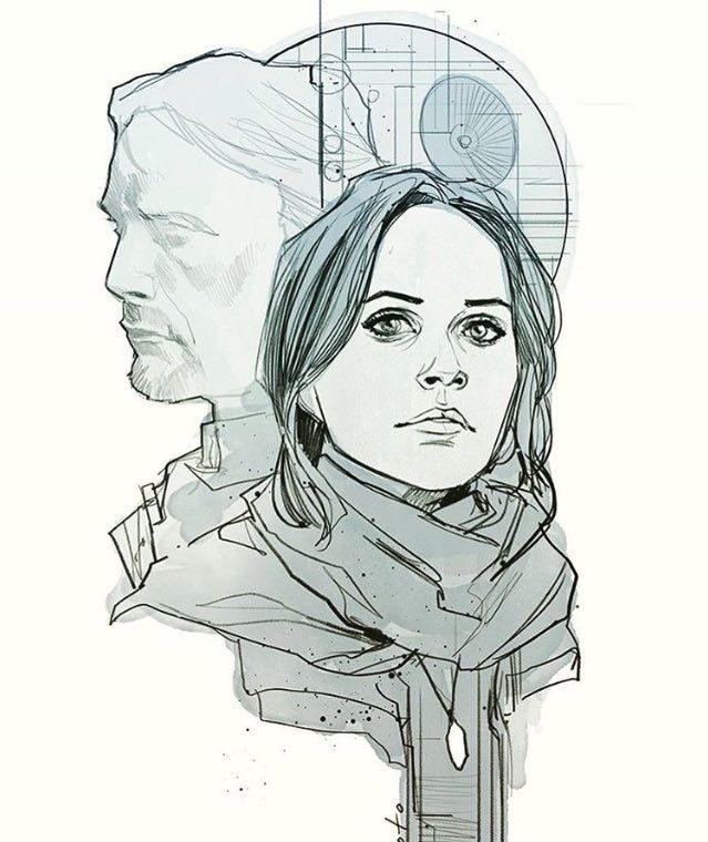 Jyn Erso by Phil Noto