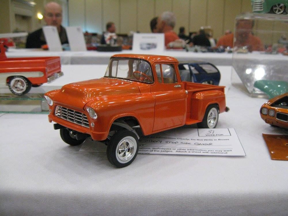 55 chevy pu gasser plastic fanatic pinterest model car models and cars. Black Bedroom Furniture Sets. Home Design Ideas