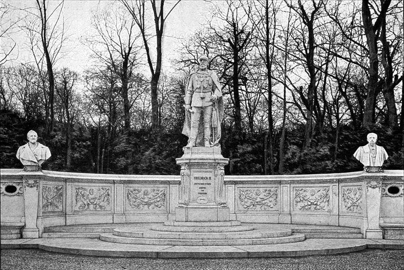 1897 Berlin Denkmal Kaiser Friedrich Iii Am Brandenburger Tor Kaiser Natural Landmarks Mount Rushmore
