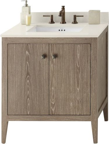 Sophie 30 Bathroom Vanity Cabinet Base In Aged Oak Bathroom