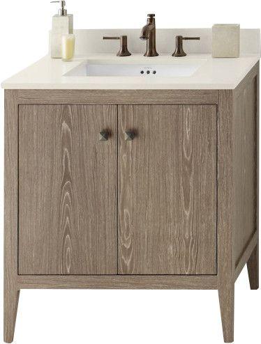 Sophie 30 Bathroom Vanity Cabinet Base In Aged Oak Bathroom