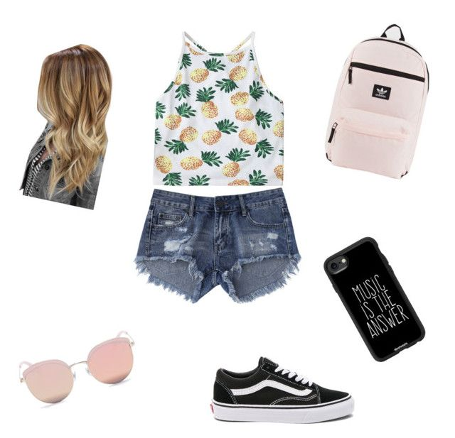 """""""Untitled #3"""" by julie-nicole-1 on Polyvore featuring Vans, adidas, Stephane + Christian and Casetify"""