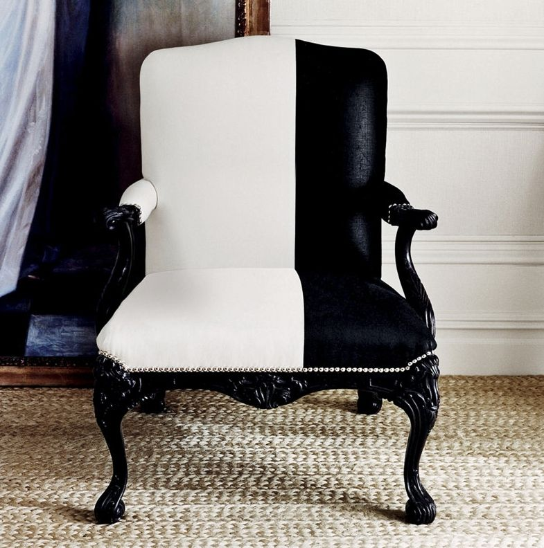 Ralph Lauren Collection By E.J. Victor Furniture. Beautifully Composed  Graphic Statement.